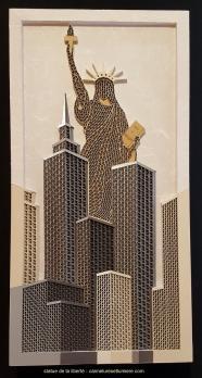 Statue de la liberte 6x12